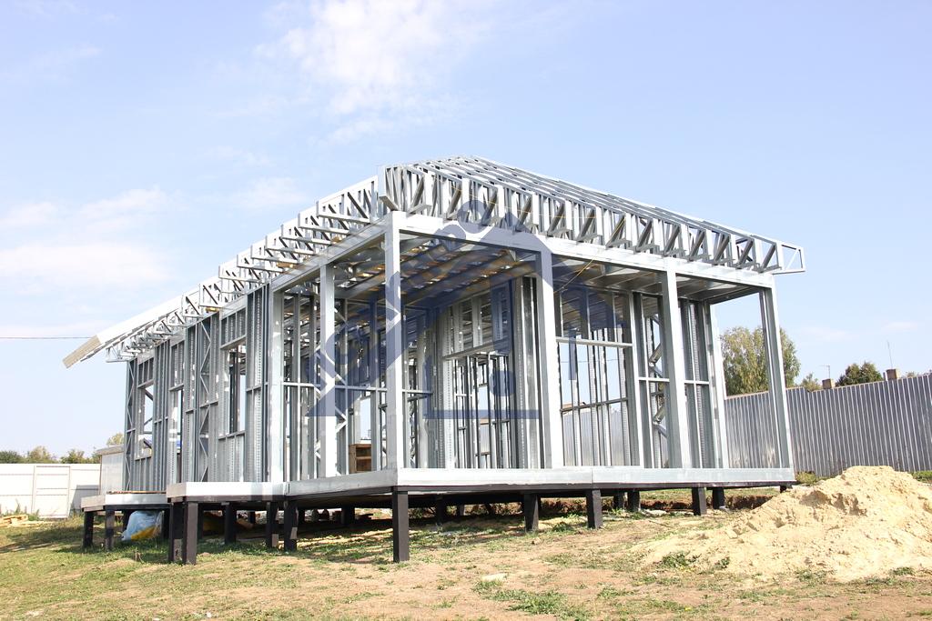 Коттеджи г. Тула - Строительная компания ЛСТКИНФО. Строительство из ЛСТК в Москве и Московской области