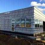 Торговое здание АЗС на основе ЛСТК - Строительная компания ЛСТКИНФО. Строительство из ЛСТК в Москве и Московской области, России