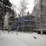 Административное здание - Строительная компания ЛСТКИНФО. Строительство из ЛСТК в Москве и Московской области