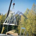 Башни из ЛСТК, Ерёмкино - Строительная компания ЛСТКИНФО. Строительство из ЛСТК в Москве и Московской области