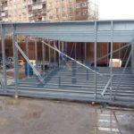 Малые ангары - Строительная компания ЛСТКИНФО. Строительство из ЛСТК в Москве и Московской области