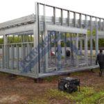 Павильон - Строительная компания ЛСТКИНФО. Строительство из ЛСТК в Москве и Московской области