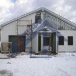 Шиномонтаж - Строительная компания ЛСТКИНФО. Строительство из ЛСТК в Москве и Московской области