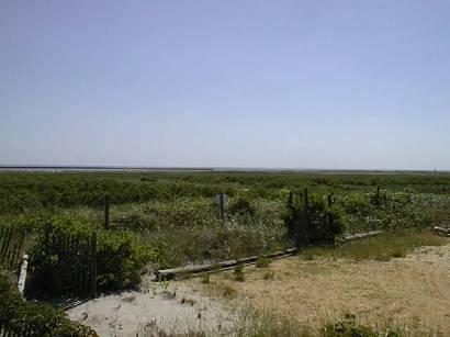 Рис.12 – открытая земля между площадкой в Нью-Джерси и Океаном